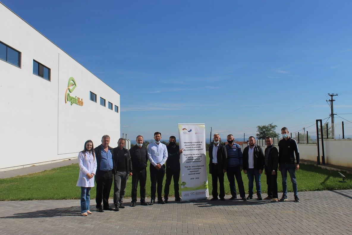 Vizitë studimore me përfituesit e projektit të BMA-ve në Kosovë