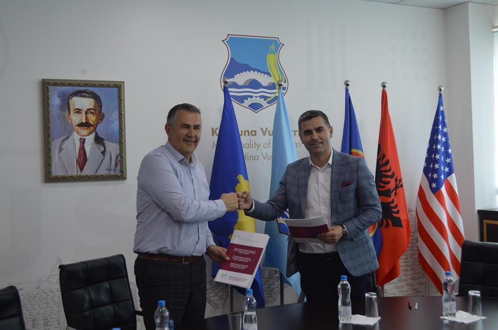 IADK vazhdon bashkëpunimin me Komunën e Vushtrrisë dhe Lipjanit