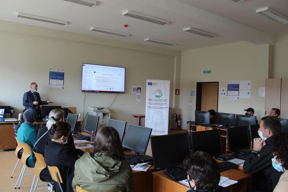 Zhvillohen trajnimet profesionale me dy grupe nga Mitrovica Jugore