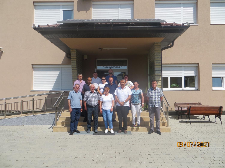"""Organizata """"AgroPuka"""" nga Shqipëria viziton IADK-në"""